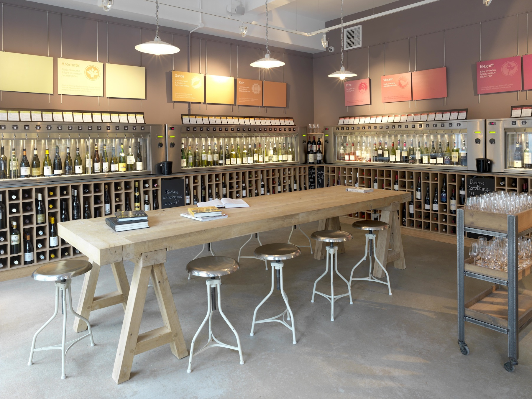 Our Wine Dispensing Systems - By The Glass