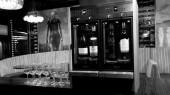 2 Modular wine dispensers on bar