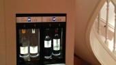4 bottle wine dispenser private residence