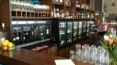 Modular wine dispensers in Restaurant Fontti in Turku Finland