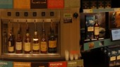 Whiskey dispenser for Diageo