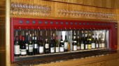 Colored Wine dispenser 20 bottles Hotel l'Europe Amsterdam