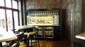 Self service Wine dispenser in Cigar lounge Switzerland